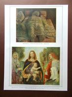 La Pinacoteca Di Brera Mantegna Luini Bellini Raffaello Sanzio Del 1914 - Boeken, Tijdschriften, Stripverhalen