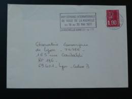 17 Charente Maritime La Rochelle Semaine De Voile 1977 - Flamme Sur Lettre Postmark On Cover - Vela