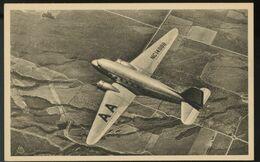 American Airlines DC-3 Enroute Original Postcard - 1946-....: Ere Moderne