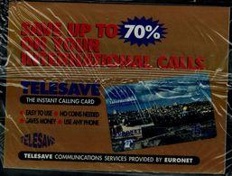 ISRAEL 1996 TELESAVE PRIVATE PHONECARD JERUSALEM 75 UNITS MINT VF!! - Israele