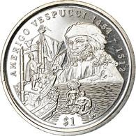 Monnaie, Sierra Leone, Dollar, 1999, British Royal Mint, Amerigo Vespucci, SPL - Sierra Leone