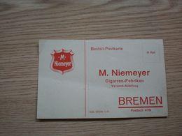 M Niemeyer Bremen Cigarren Fabriken Bremen - Articoli Pubblicitari