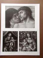 La Pinacoteca Di Brera Bellini Cristo Ferrari Luini Savoldo Madonna Del 1914 - Boeken, Tijdschriften, Stripverhalen