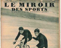 LE MIROIR DES SPORTS 939 1937 TURIN LOGES EN JOSAS LIMONEST LYON QUIMPERLE LORIENT BRUXELLES AVIATION VENT DE DIEU JAPON - Livres, BD, Revues