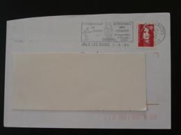 07 Ardèche Vals Les Bains Championnat Pétanque 1995 - Flamme Sur Lettre Postmark On Cover - Bocce