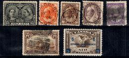 Canada YT N° 38, N° 59/61, N° 84, N° 92 Et PA N° 4 *. B/TB. A Saisir! - Collections
