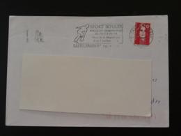 11 Aude Castelnaudary Championnat De France Petanque 1996 (ex 2) - Flamme Sur Lettre Postmark On Cover - Bocce