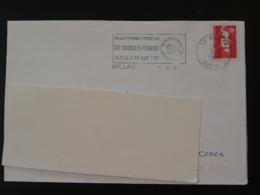 12 Aveyron Millau Mondial Petanque 1997 - Flamme Sur Lettre Postmark On Cover - Bocce