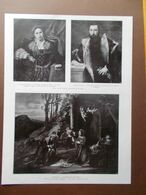 La Pinacoteca Di Brera Lotto Pola Brescia Correggio Bartolomeo Montagna Del 1914 - Boeken, Tijdschriften, Stripverhalen