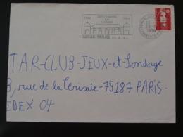 17 Charente Maritime Chatellaillon Plage Centenaire Du Casino 1994 (ex 2) - Flamme Sur Lettre Postmark On Cover - Spiele