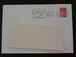 20 Corse Petreto Bicchisano Site Préhistorique De Filitosa (ex 1) - Flamme Sur Lettre Postmark On Cover - Préhistoire