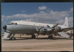 Douglas DC6 C-118 PROP Photo Postcard - 1946-....: Ere Moderne