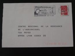 21 Cote D'Or Dijon Toucan Florissimo 2000 (ex 3) - Flamme Sur Lettre Postmark On Cover - Werbestempel
