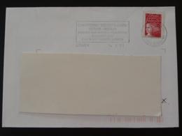 22 Cotes Du Nord Dinan Championnat Rink-hockey 2001 - Flamme Sur Lettre Postmark On Cover - Rasenhockey