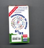 Jeu De 80 Cartes Championnat De France Football 1999/2000  Dans Boite - Other