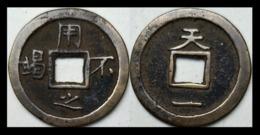 KOREA ANTICA MONETA COREANA PERIODO IMPERIALE IMPERIALE COREANE COINS  PIECES MONET COREA IMPERIAL COD #57 - Corea Del Nord
