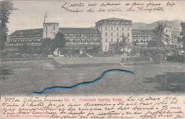 """KINGSTON """"Constant Spring Hotel """" écrite En 1904  Voir Scan - Jamaïque"""