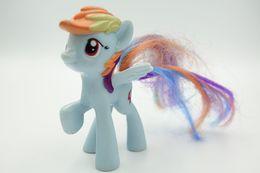Vintage FIGURE : MY LITTLE PONY Rainbow Dash Mcdonalds  - 2011 - HASBRO - RaRe  - Figuur - Beeldjes