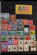BIRDS TOPICAL COLLECTION.  1861-1999. All Different Mint, Used & Never Hinged Mint Collection Of Stamps & Miniature Shee - Allemagne