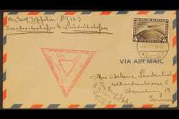 ZEPPELIN CHICAGO WORLD EXHIBITION FLIGHT COVER  1933 (14 Oct) Cover Addressed To Germany, Bearing 1933 4m Air Chicago Ex - Allemagne