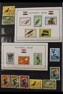 BIRDS TOPICAL COLLECTION  1957-2008. All Different Mint, Used & Never Hinged Mint Collection Of Stamps & Miniature Sheet - Ghana (1957-...)