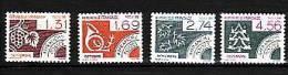 1987-PREO N°194/197** LES MOIS DE L'ANNEE - 1964-1988