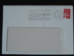29 Finistère Camaret Mégalithes Préhistoriques Prehistoric Stones (ex 4) - Flamme Sur Lettre Postmark On Cover - Préhistoire