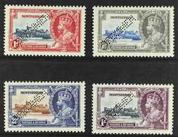 "1935  Silver Jubilee Set, Perf. ""SPECIMEN"", SG 94/97s, Fine Mint. (4 Stamps) For More Images, Please Visit Http://www.sa - Montserrat"