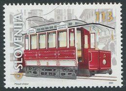 SLOWENIEN / MiNr. 357 / 100 Jahre Straßenbahn In Ljubljana / Postfrisch / ** / MNH - Tramways