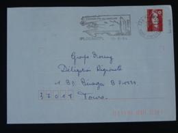 29 Finistère Plouarzel Megalithe Menhir 1994 - Flamme Sur Lettre Postmark On Cover - Préhistoire