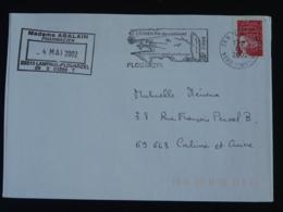 29 Finistère Plouarzel Megalithe Menhir 2002 - Flamme Sur Lettre Postmark On Cover - Préhistoire