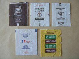 Déstockage FRANCE & BELGIQUE, 5 Papiers, TB. - Sucres