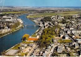 95 - BEAUMONT Sur OISE : Vue Générale Aérienne - CPSM Dentelée Grand Format 1976 - Val D'Oise - Beaumont Sur Oise