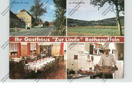 """4955 HILLE - ROTHENUFFELN, Gasthaus Schule """"Zur Linde"""" - Minden"""