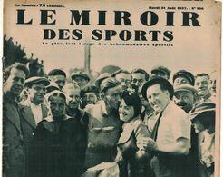 LE MIROIR DES SPORTS 966 1937 COPENHAGUE ELOI MEULENBERG PONT AVEN CONCARNEAU PLOUGASTEL DOUALAS MOSCOU TOUR URSS ESSEX - Livres, BD, Revues