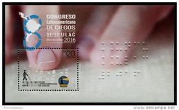 Uruguay (2016) - Block -  /  Blind - Braile - UNUSUAL - Unclassified
