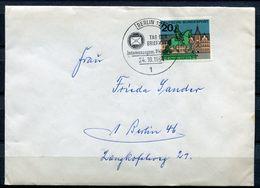 """Germany Berlin 1964 Sonderbeleg Tag Der Briefmarke Mit BUND Mi.Nr.423 Und SST""""Berlin 12-Tag Der Briefmarke""""1 Beleg - Dag Van De Postzegel"""