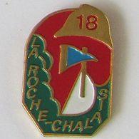 1 Pin's Sapeurs Pompiers De LA ROCHE CHALAIS (DORDOGNE - 24) - Pompiers