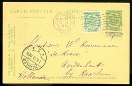 POSTKAART Uit 1911 Gelopen Van BELGIE ANTWERPEN Naar HAARLEM (11.827f) - 1910-1911 Caritas