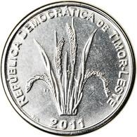 Monnaie, EAST TIMOR, 5 Centavos, 2011, Lisbonne, SPL, Nickel Clad Steel, KM:2 - Timor