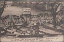 Foire Exposition De Macon , 1928 , F. Antoina , Constructeur De Bateaux à St Laurent Les Macon , Ain , Animée - Macon