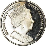 Monnaie, BRITISH VIRGIN ISLANDS, Dollar, 2017, Franklin Mint, Makaire Bleu, SPL - Iles Vièrges Britanniques