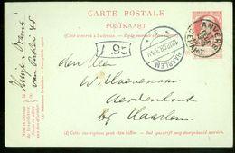 POSTKAART Uit 1908 Gelopen Van BELGIE ANTWERPEN Naar HAARLEM (11.827g) - 1905 Thick Beard