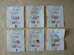 Déstockage,6 Papiers, Maisons De Régions, TB. - Sucres