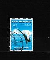 OBL 1744  MI 1955 U 1796 Arum Et Silhouette De Voilier 65/53 - San Marino