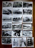 LOT DE 19 PHOTOS CARTES POSTALES CROIX-ROUSSE ( LYON-69 ) - Reproductions