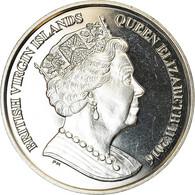 Monnaie, BRITISH VIRGIN ISLANDS, Dollar, 2016, Franklin Mint, Rugby, SPL - Iles Vièrges Britanniques