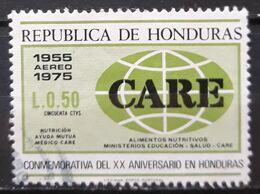 "HONDURAS 1976 Airmail - The 20th Anniversary Of ""CARE"" In Honduras. USADO - USED. - Honduras"