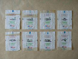 Déstockage FRANCE, 8 Papiers, Avions, Traces De Scotch. - Sucres