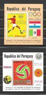 Paraguay Blocs JO 68 ** - Zomer 1968: Mexico-City